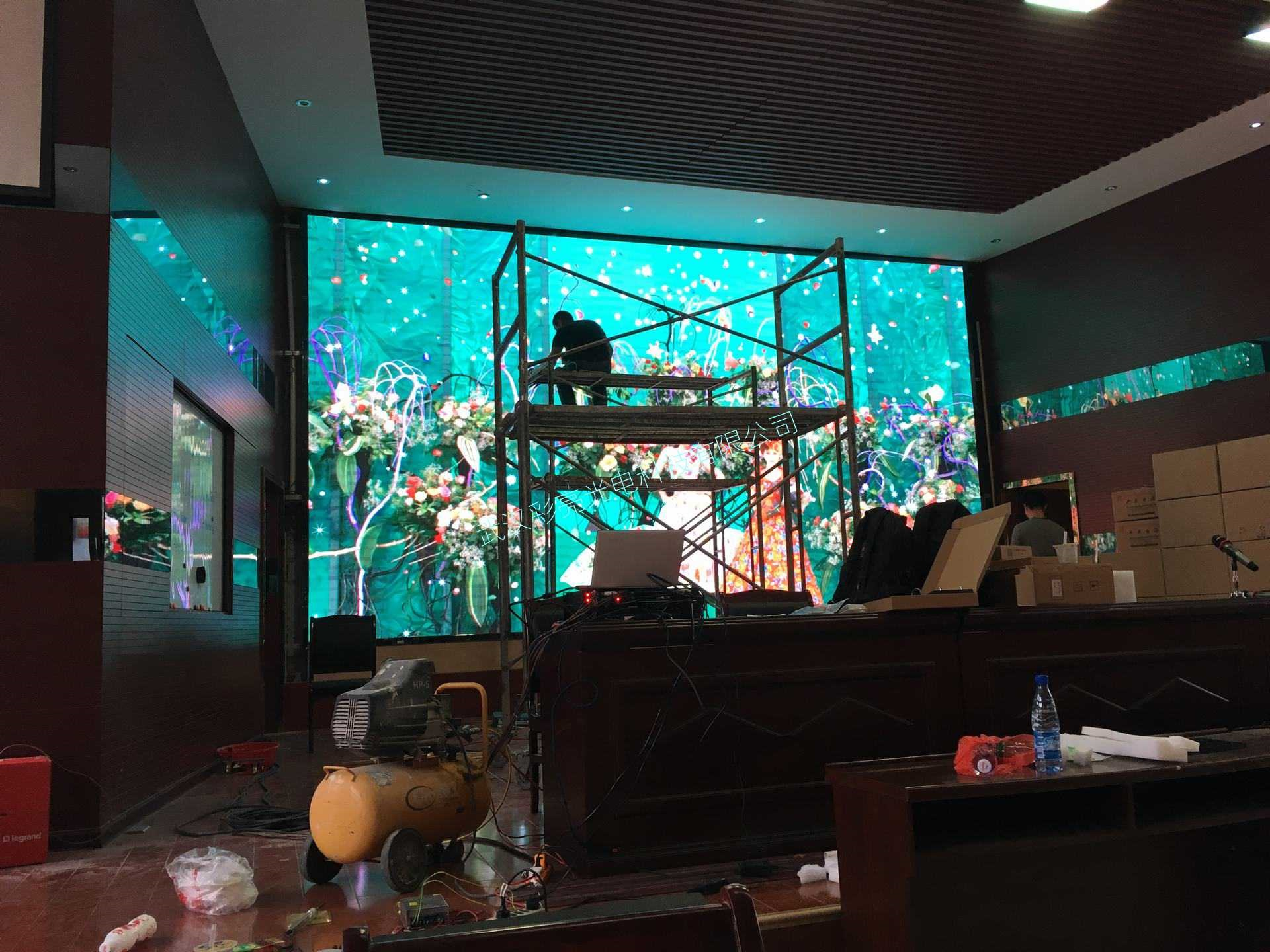 学校报告厅室内P2.5高刷高清全彩显示屏