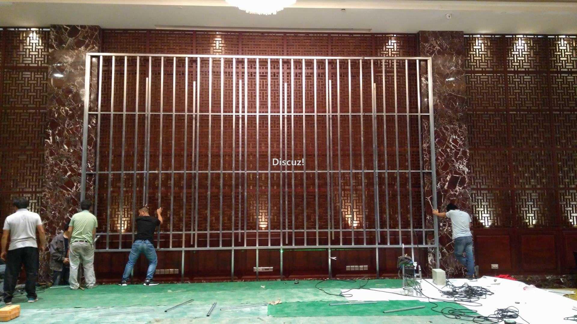 酒店室内P4全彩LED显示屏