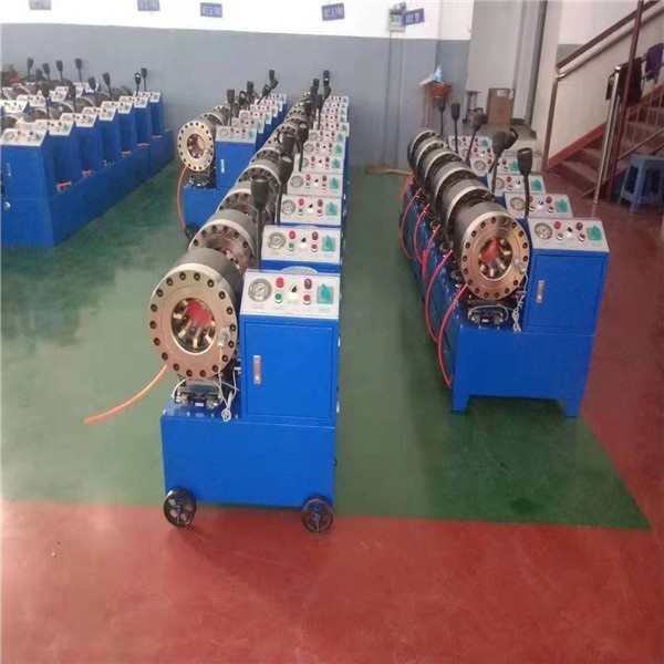 大棚镀锌管缩头机、温室大棚管缩管机